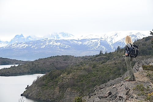 JR Patagonia hiking
